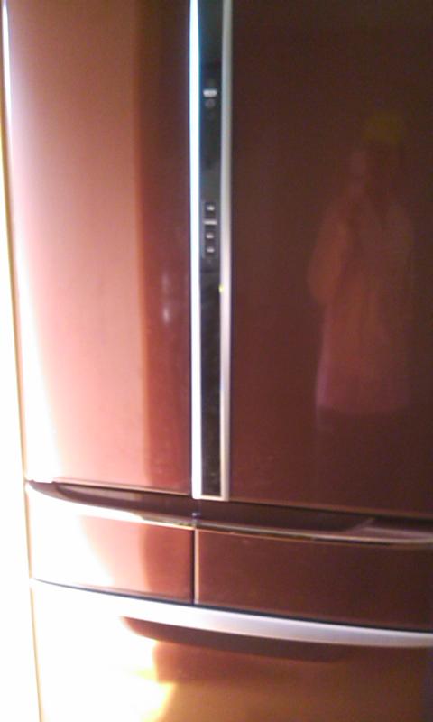 冷蔵庫ー!