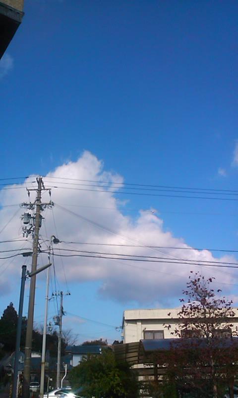 空が青いっ!