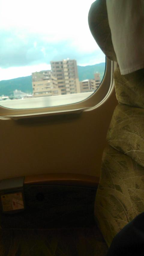 九州新幹線つばめに初乗車!