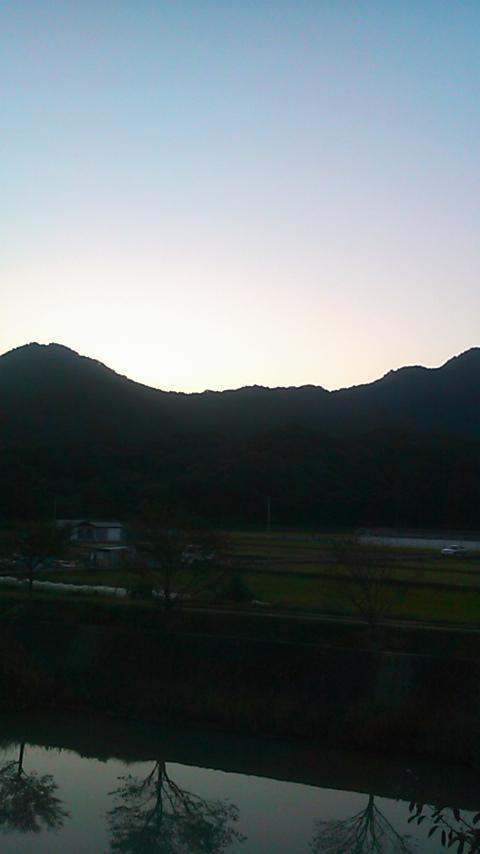秋は夕暮れ♪♪